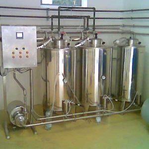 Automatikus CIP rendszer tejüzemek részére