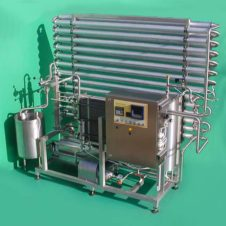 ontinuous-flow plate pasteurizer for liquid eggs