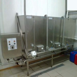 CIP system, semi-automatic