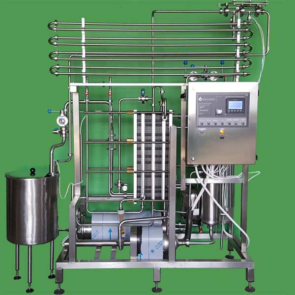Flow pasteurizers, HTST milk pasteurizers