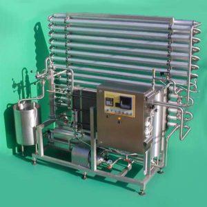 Liquid egg pasteurization equipment