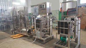 Milchpasteure bei Zootechnika