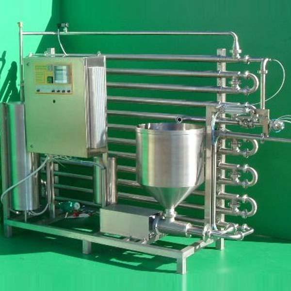 Fruchtsaftpasteur mit Röhrenwärmetauscher